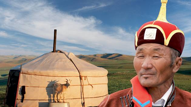 Diashow Mongolsko - země Čingischána