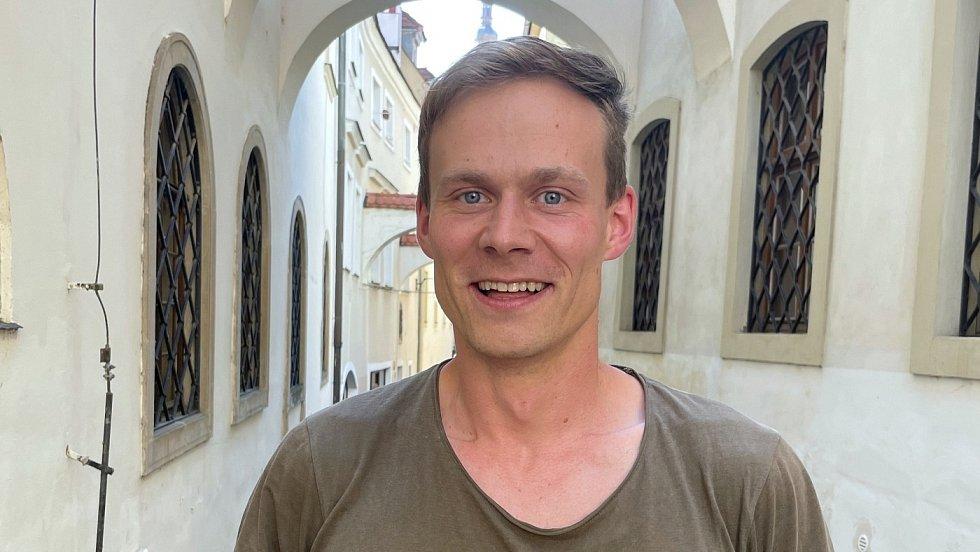 Štěpán Havran, hlavní organizátor akce s názvem Olomouc (o)žije