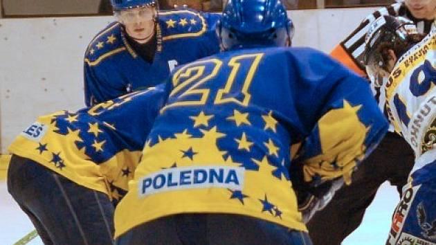 Šternberští hokejisté.