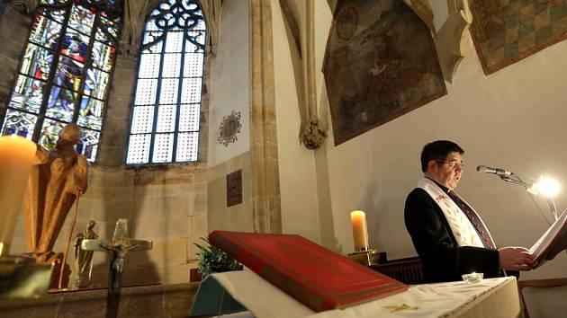 Gotická kaple sv. Jeronýma na olomoucké radnici