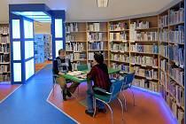 Modernizovaná čítárna Knihovny města Olomouce