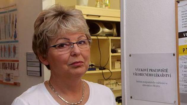 Praktická lékařka Věra Katzerová z Litovle