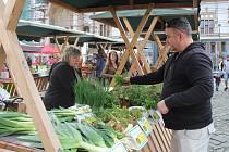 V centru Olomouce se konaly tradiční trhy