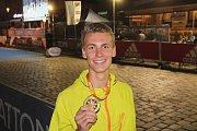 Olomoucký závod si dvaadvacetiletý Petr Zahradníček z Pardubic tak oblíbil, že si ho za poslední čtyři roky nenechal ujít ani jednou.
