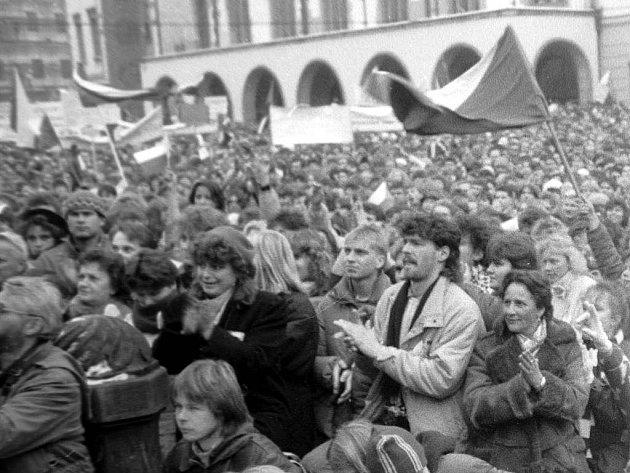 30 let od Sametové revoluce v Olomouci