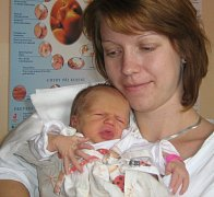 Alice Vláčilová, Olomouc, narozena 5. září v Olomouci, míra 48 cm, váha 3030 g