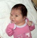 Nela Superatová, Šternberk, narozena 18. února ve Šternberku, míra 50 cm, váha 3490 g