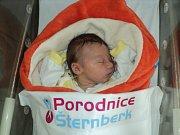 Karolína Novotná, Štěpánov,narozena 17. prosince,míra 50 cm, váha 3600 g