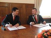 Do Olomouce zavítala návštěva z Kunmingu