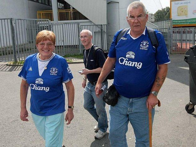 Evertonu fandí, na věku nezáleží