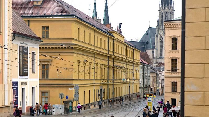 Hanácká kasárna u náměstí Republiky v Olomouci