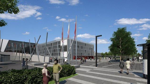 Městská hala Olomouc - exteriéry