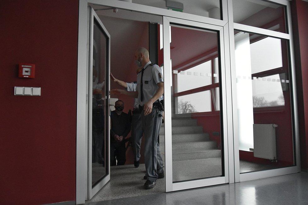 Obžalovaný Rostislav B. u krajského soudu v Olomouci, 10. 2. 2021