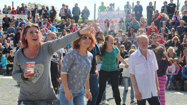 První máj na Korunní pevnůstce v Olomouci