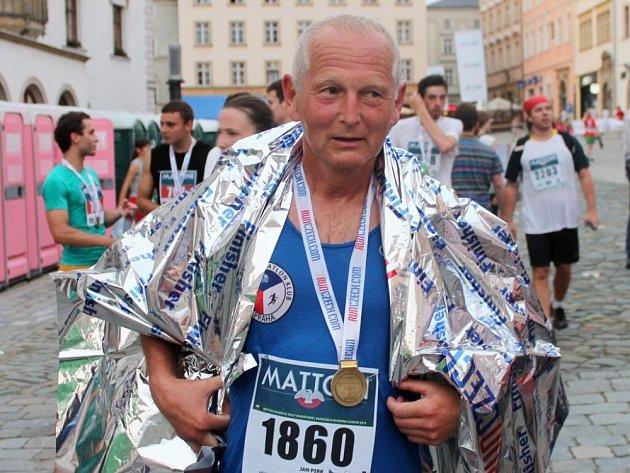 Kardiochirurg Jan Pirk na Olomouckém půlmaratonu