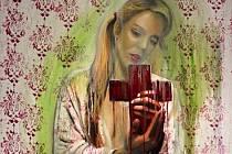 Jitka Nesnídalová - Rebecca (výřez z obrazu)