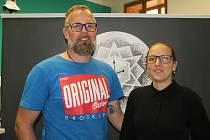 Manželé Ladislav a Kateřina Křížkovi provozují tetovací studio Cruz Tattoo v Olomouci