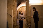 První dáma Ivana Zemanová navštívila Arcidiecézní muzeum Olomouc