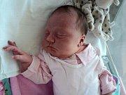 Laura Vránová, Štarnov, narozena 26. září ve Šternberku, míra 50 cm, váha 3760 g