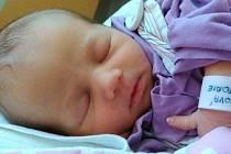 Viktorie Čížková, Uničov, narozena 26. srpna ve Šternberku, míra 47 cm, váha 2710 g