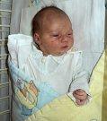 Sabina Čiklová, Babice, narozena 10. září ve Šternberku, míra 47 cm, váha 3020 g