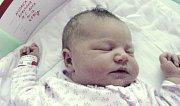 Andrea Kukulová, Červenka, narozena 18. května v Olomouci, míra 51 cm, váha 4190 g