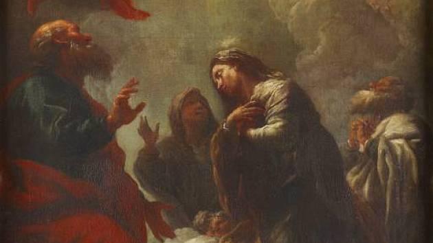 V kapli zámku v Čechách pod Kosířem restaurátoři identifikovali vzácnou barokní malbu z dílny Pavla Brandla