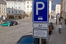 Nová parkovací místa na Horním náměstí
