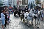 Svátky města 2008: průvod ke cti svaté Pavlíny