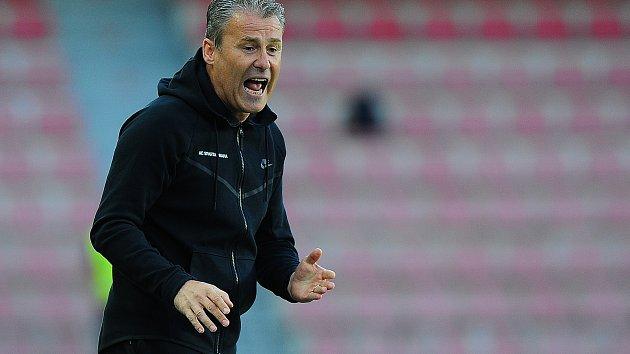 Trenér Sparty Pavel Hapal