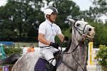 Patrick Eibner. Světový pohár CSI*** Olomouc. Závody pro šestileté a sedmileté koně.