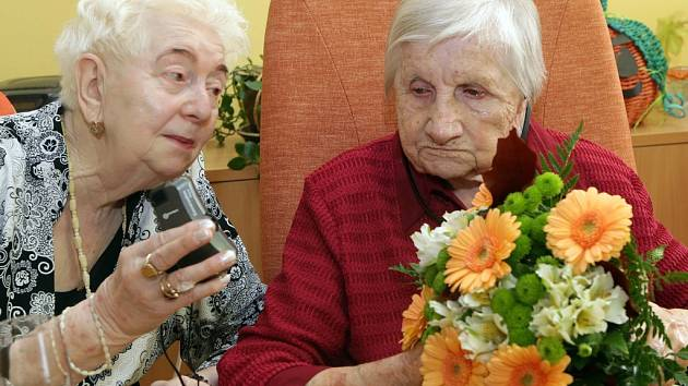 Nejstarší Olomoučanka Marta Musilová oslavila 106. narozeniny.