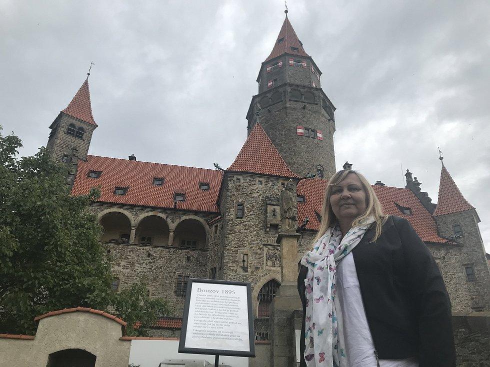 Zuzana Šulcová, kastelánka, Státní hrad Bouzov