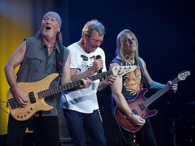 Deep Purple na ostravském koncertu