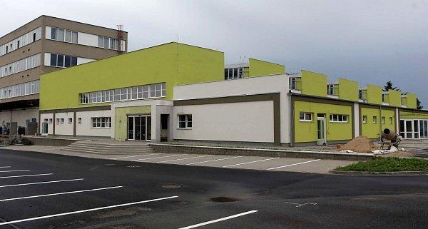Dětské centrum Krokodýlek vzniká vbývalé tovární hale podniku Kovo-dřevo volomoucké čtvrti Lazce