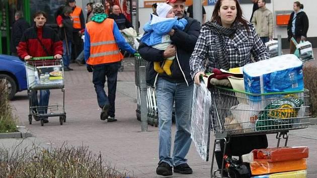 Vánoční nákupy v Olomouci