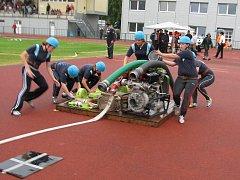Hasiči z Hluboček se účastní také krajských soutěží