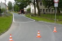 V Hněvotíně vyčlenili silnici pro jízdu na in-linech či skateboardu