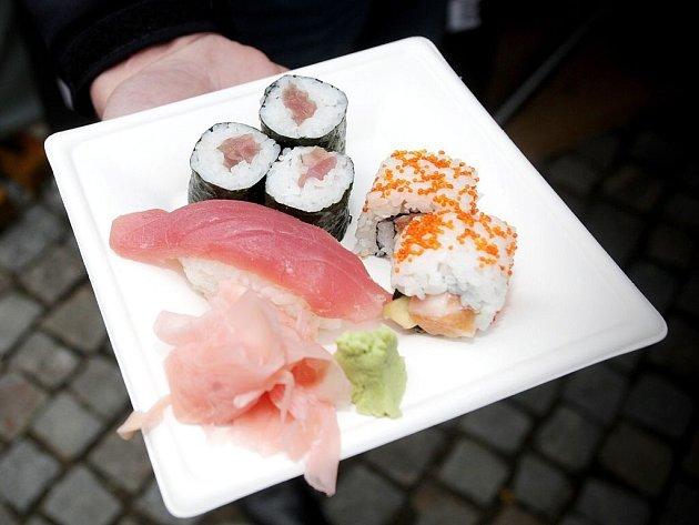 Suši. Ilustrační foto