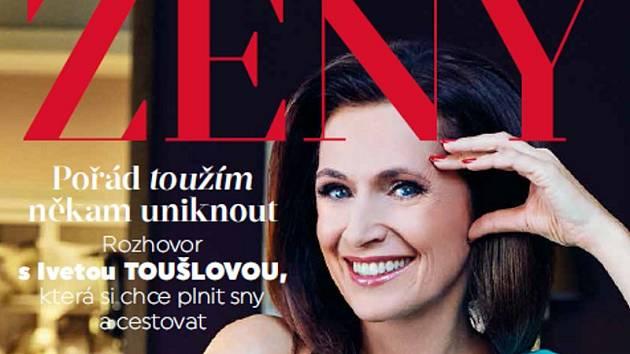 Iveta Toušlová v nové příloze Deníku ŽENY
