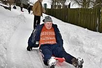 Zimní hry pro klienty sociálních zařízení v Lipině
