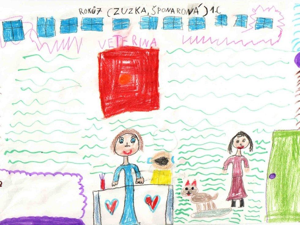 Zuzana Šponarová, 7 let, chce být veterinářkou