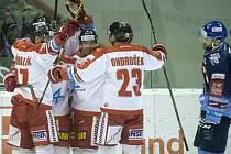 Hokejisté Olomouce porazili Kladno 4:0