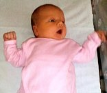 Liliana Rotter, narozena 11. listopadu, míra 50 cm, váha 3480 g