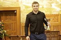 Předávání cen nejúspěšnějším sportovcům okresu Olomouc - David Klammert