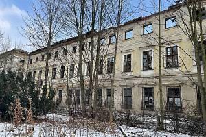 Dlouhá Loučka, zámek, leden 2021