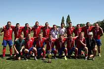 Tým KŘP Olomouckého kraje skončil na policejním mistrovství na druhé příčce.