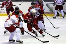 Hokejisté Olomouce proti Havlíčkovu Brodu
