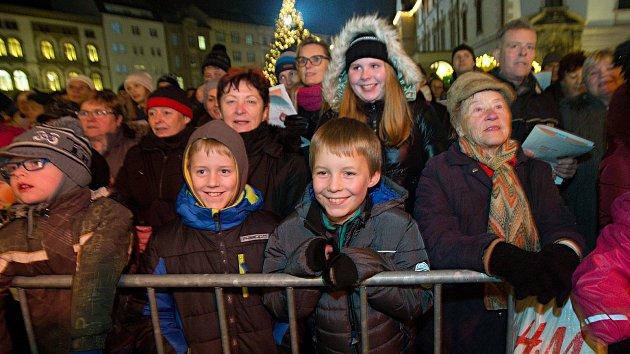 Česko zpívá koledy 2018 v Olomouci