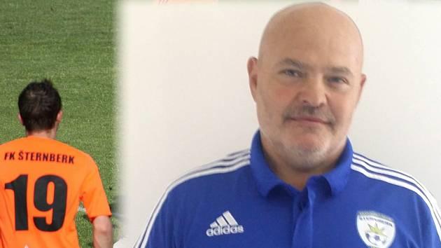 Předseda FK Šternberk Radek Pallós